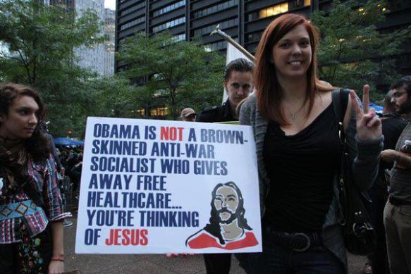 Jesus not Obama