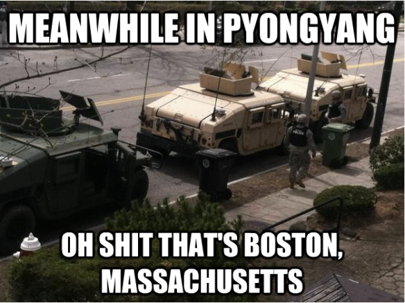 Tanks in Boston Massachusetts
