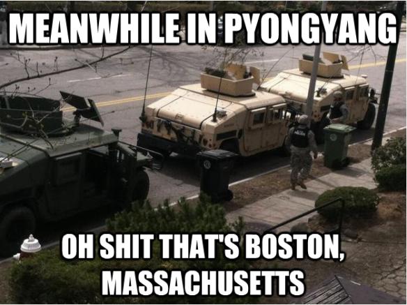 Tanks in Boston Massachusetts