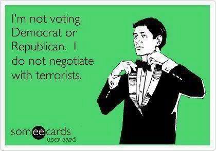 Democrat Republican Terrorist