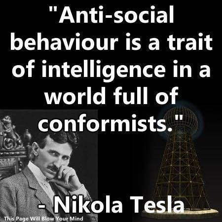 Tesla pic/quote