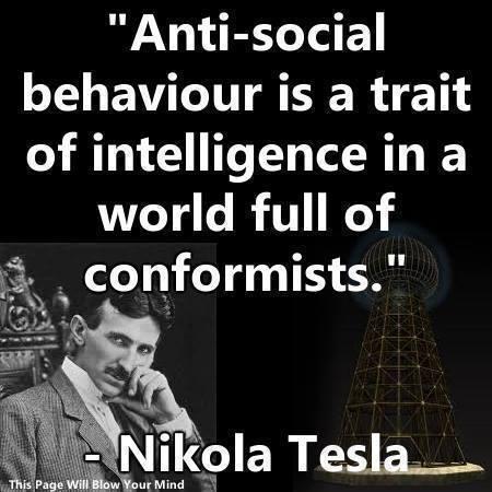 Tesla pic/quote